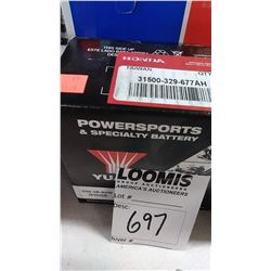 NEW POWERSPORTS & SPECIALTY BATTERY 6N6-3R-AHM