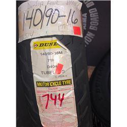 NEW DUNLOP TUBELESS TIRE 140/90-16M/$177.39