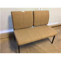 Double Seat Waiting room upholstered bench