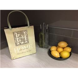 Lot of decor - fruit, bag  dispensers