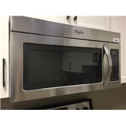 NEW Whirlpool Over Range Microwave model YWMH31017AS Stainless Steel.