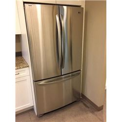 "NEW LG 3 door 36"", Stainless Steel Fridge model # LFC25770ST"