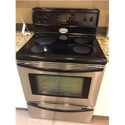 NEW Frigidaire Stainless Steel CeranTop Range Model # CFEF372EC6