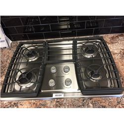 NEW KitchenAid Gas Stainless Steel Cooktop.