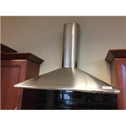 NEW Faber Stainless Steel High Output Range Hood Fan.