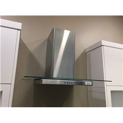 NEW Brisa Stainless  Glass Range Hood Fan