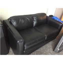 Leather 2 Seat Love Seat
