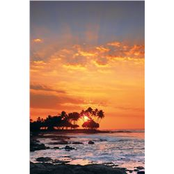 Large 55 x 74.5 Peter Lik Framed Photograph - Sunset Photograph, Signed Ltd. Edition 23 of 950 (purc