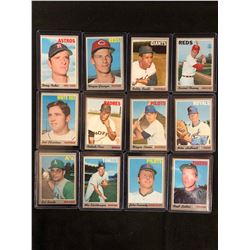 1970 TOPPS BASEBALL CARD LOT