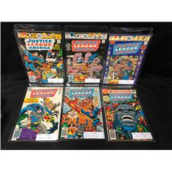 JUSTICE LEAGUE OF AMERICA COMIC BOOK LOT (DC COMICS)