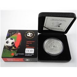 .9999 Fine Silver $5.00 Coin 'Fifa World Cup'