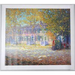 """Lawren Harris (1885-1970) Canvas 28x40"""" Unframed"""