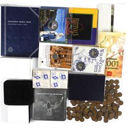 Estate Lot Mixed Coins - Mint Sets etc