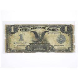 1899 USA Silver Dollar Certificate - Blue Seal.