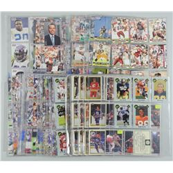 Estate Lot Mixed Pages of Sports Cards