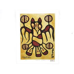 Christian Morrisseau (1969-) Serigraphic - LE/60 W