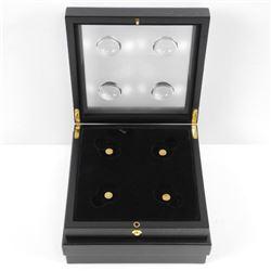 Lot (4) Mini Estate Gold Coins in RCM Case