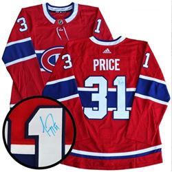 Carey Price (MTL) Jersey Signed. (KXR) With C.O.A.