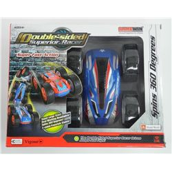 Double Sided Superior Racer; Spins 360 Degrees, Ju