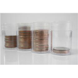 Lot (57) USA State Quarter Dollars