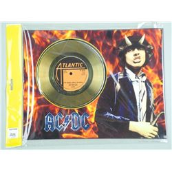 AC & DC Gold Record 'For Those About to Rock' 11x1