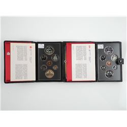 Lot (2) RCM Coin Sets: 1978 and 1979