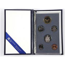 1991 Mint Set - Leather Case Specimen Set