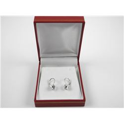 Ladies Swarovski Crystal Earrings.