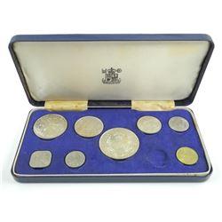 Bahama's 1966 Coin Set Silver 2.8637 ASW.