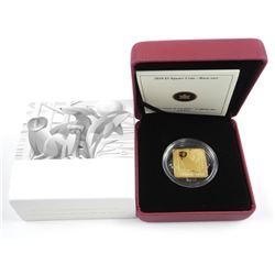 RCM 2013 $3.00 Coin 925 Silver/ 24kt GP Barn Owl L