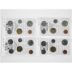 Lot (4) RCM PL Coin Sets: 1988, 1989, 1990