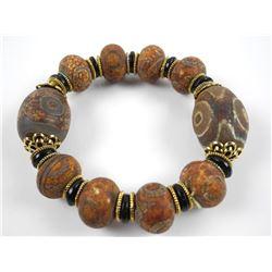 Intricate Carved Bracelet.