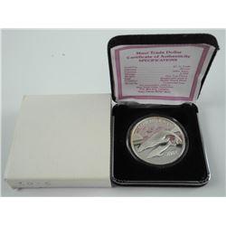 .999 Fine Silver Maui Trade Dollar LE/ 1 Troy / Ou