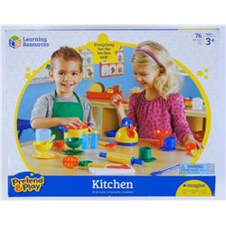 Kitchen Play Set 76pc