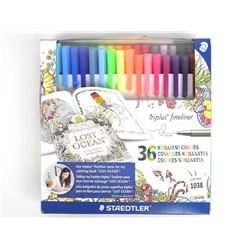 Staedtler - 36 Brilliant Colours Markers