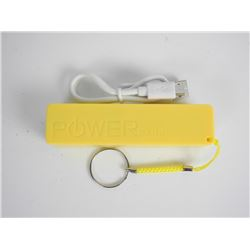 Yellow Phone Power Bank