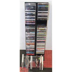 RACK OF CD'S