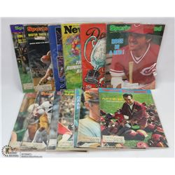 13 VINTAGE SPORTS ILLUSTRATED MAGAZINES