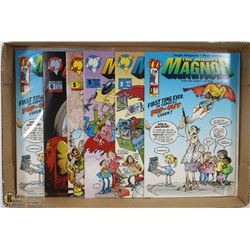 THE MIGHTY MAGNOR COMIC BOOK SET  1993  (6)