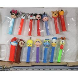PEZ DISPENSER COLLECTION.
