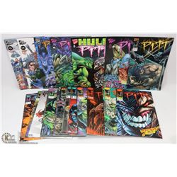 PITT COMIC BOOK SET  1993  (27)