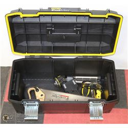 STANLEY FAT MAX TOOL BOX WITH CONTENTS