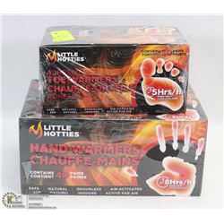 LOT OF 2 LITTLE HOTTIES TOE WARMERS - BOX OF 30
