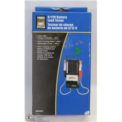 NEW IN THE BOX 6 AND 12 VOLT BATTERY HAND TESTER