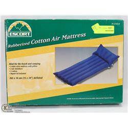 ESCORT RUBBERIZED COTTON AIR MATTRESS