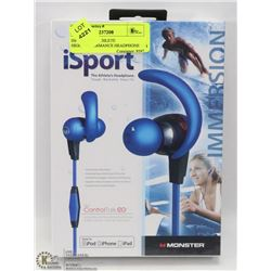 ISPORT -THE ATHLETE HIGH-PERFORMANCE HEADPHONE