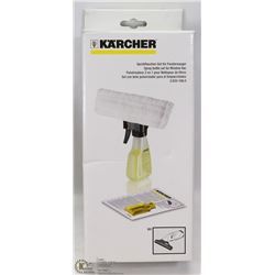 KARCHER SPRAY BOTTLE SET FOR WINDOW VAC