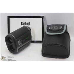 BUSHNELL LASER RANGE FINDERS WITH CASE.