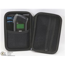 BACKTRACK BREATHALYZER WITH CASE.