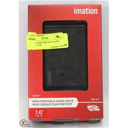 IMATION M100 PORTABLE HARD DRIVE - 1.0TB